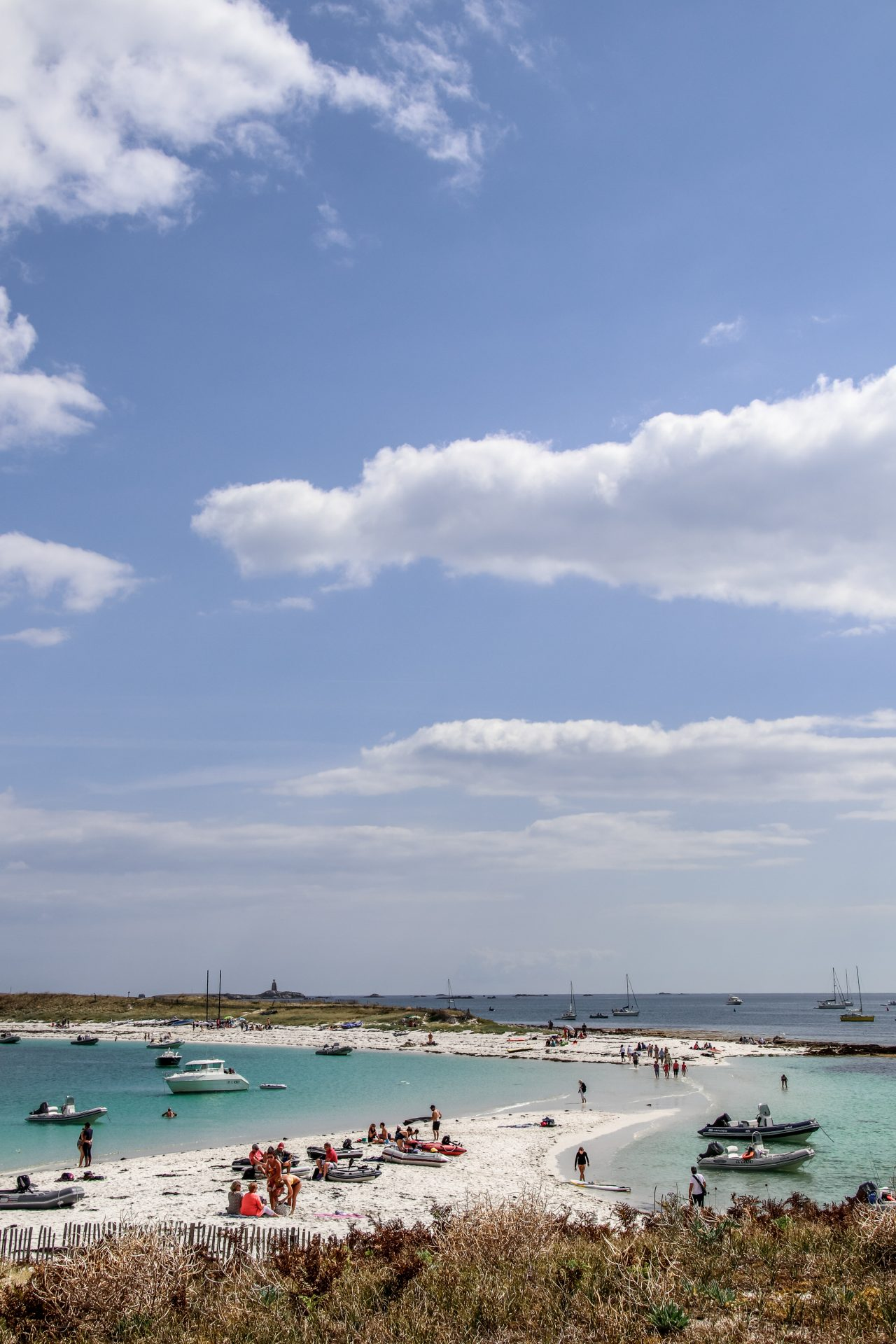 Glénan-Inseln-Strand