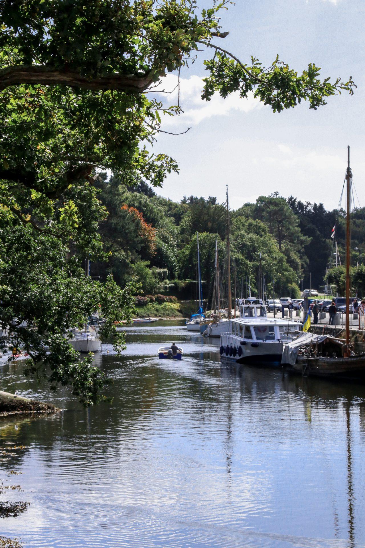 Pont-Aven-Hafen