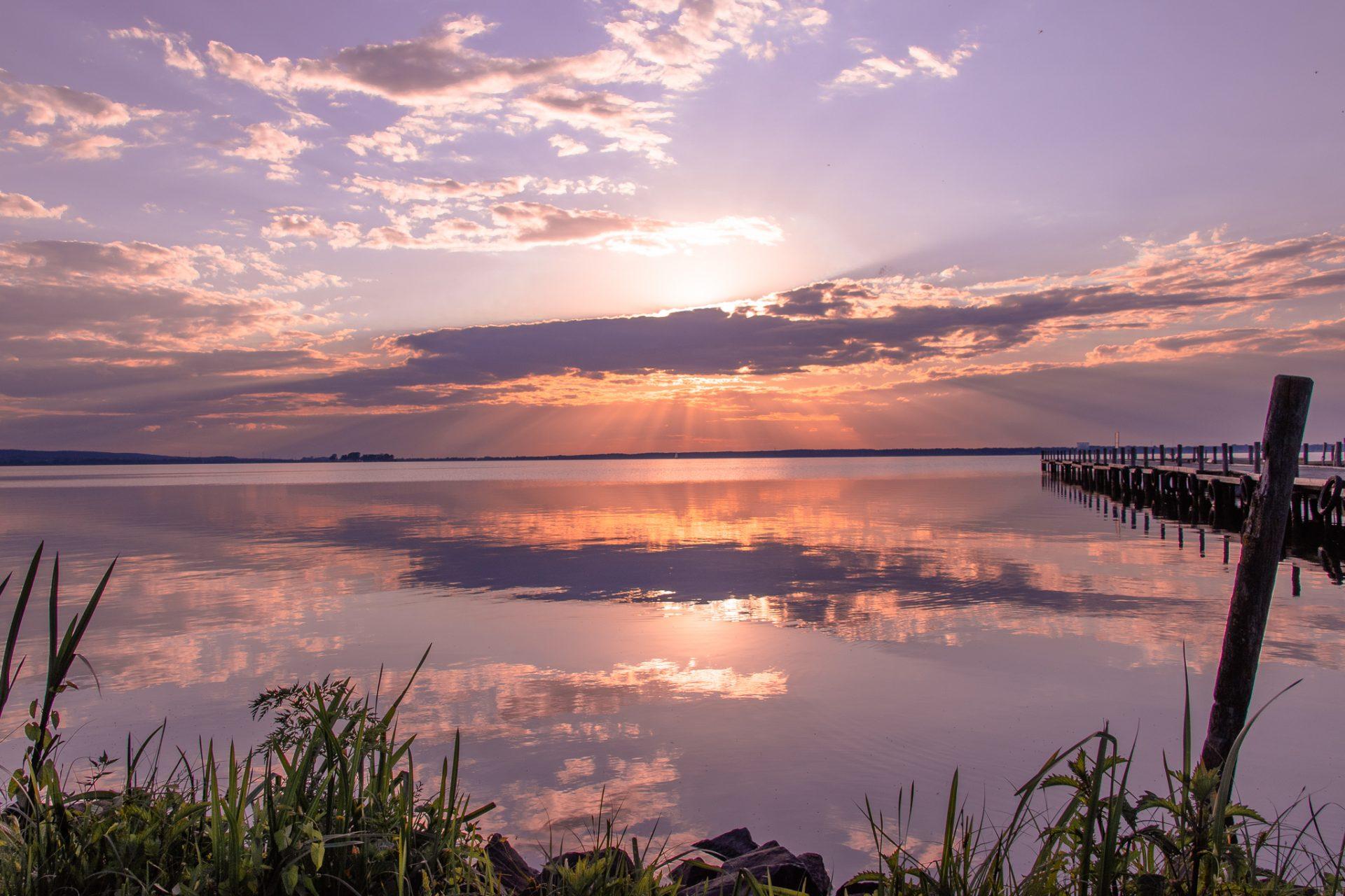 Steinhuder-Meer-Sonnenuntergang
