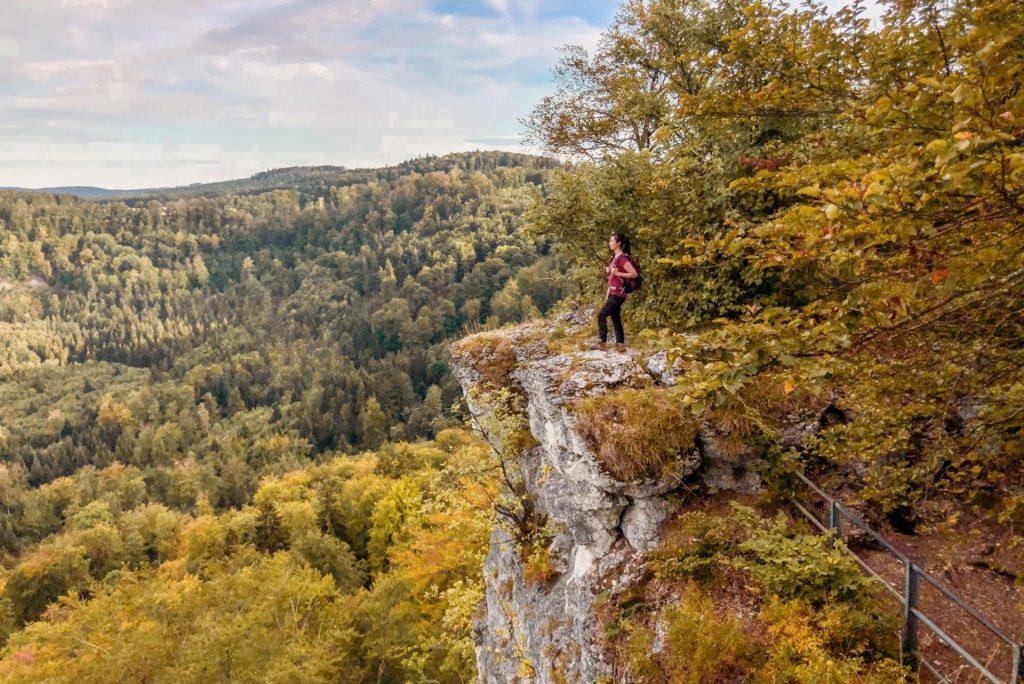 Wandern Schwaebische Alb Albstadt_blackdotswhitespots
