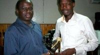 """Our favourite duo from Senegal, Pape & Cheikh won the prestigious Micro d'Or award in the category """"Acoustique & World Music""""."""