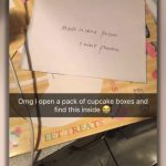 Note From China Labor Camp Found In New York Cupcake Box