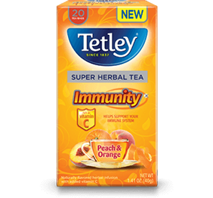 Tetley Herbal teas