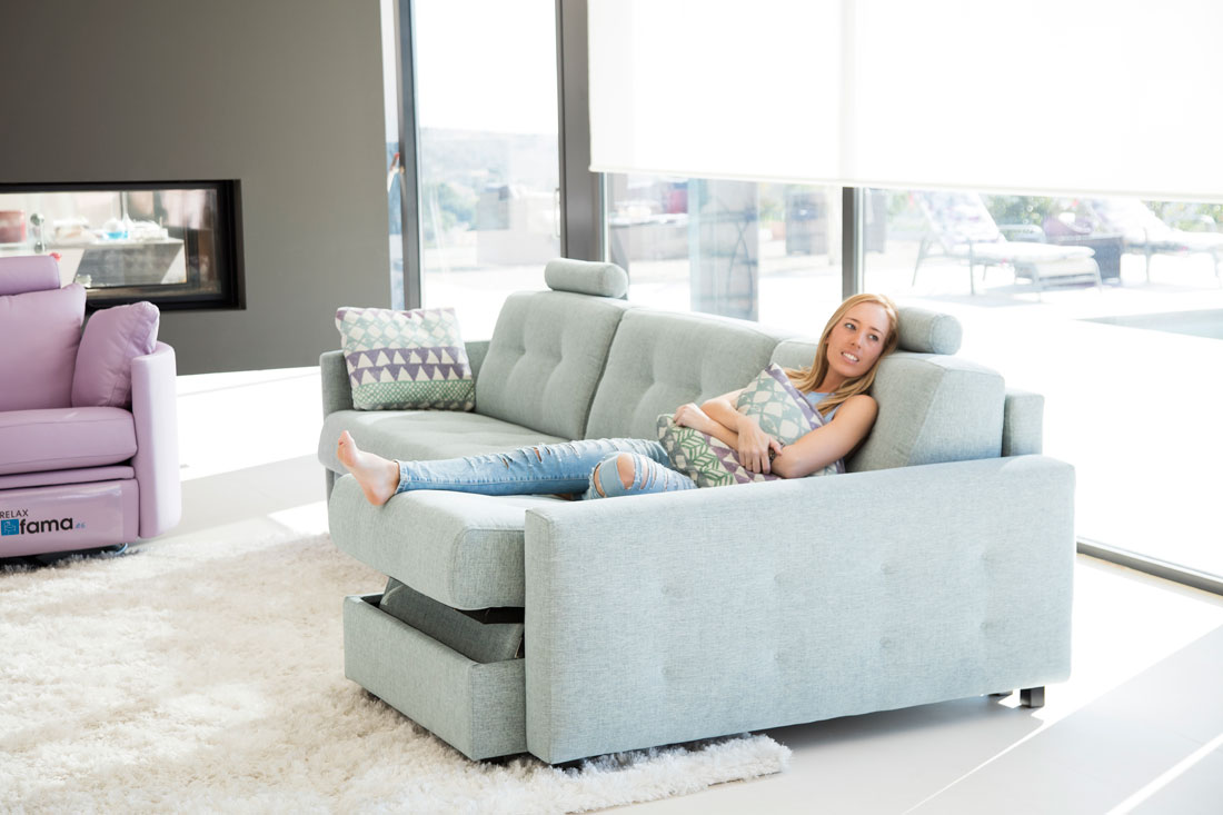 fabric sectional sofas calgary sofa virginia beach modern beds montreal   review home co