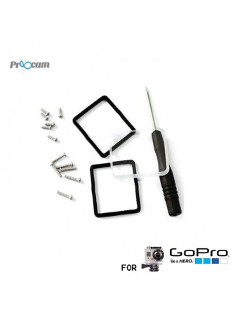Proocam Pro-J031 Glass Cover Lens for Waterproof Housing