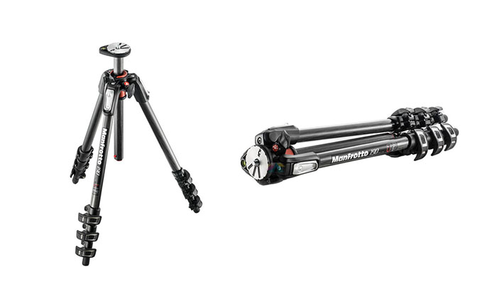 Manfrotto MT190CXPRO4 4-Section Tripod with 410 Junior