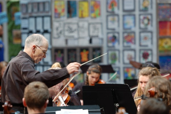 Conducting An Orchestra At FAME Festival