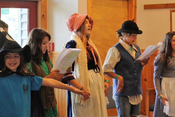 FAME Campers In Opera Class