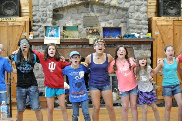 FAME Campers Rehearse The Final Production