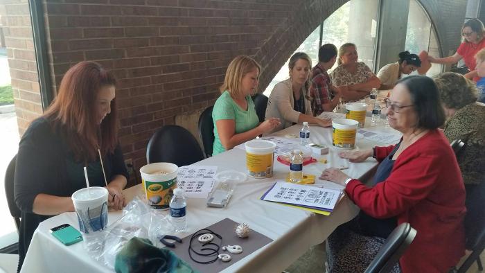 Art Workshop at Teacher's Meeting
