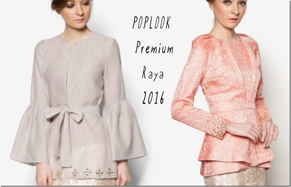 Fashionista NOW: Baju Raya 2016 ~ Kebaya, Peplum, Kimono Style Blouse Ideas