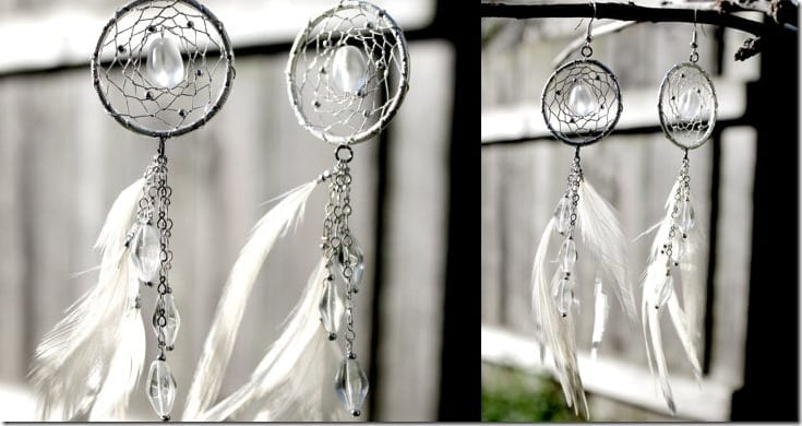 Fashionista NOW : Dreamcatcher Earrings To Wear For A Dreamy Outfit Vibe