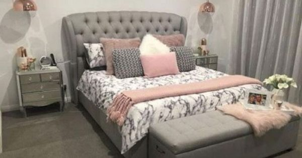 Gray Bedroom Ideas 24 Chic Decor With Pop Of Color You Ll Love