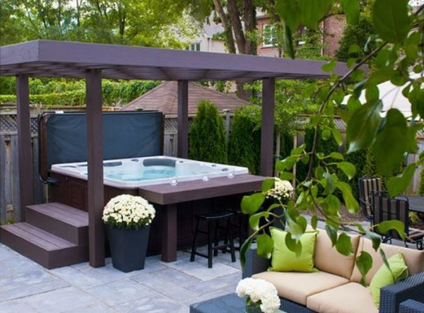 Hot Tub Patio Ideas 23 Inspiring Ideas For Cozy Outdoor Space