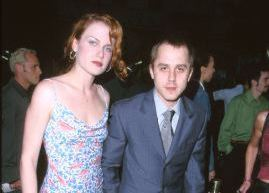 Mariah O'Brien and Giovanni Ribisi in 2000.