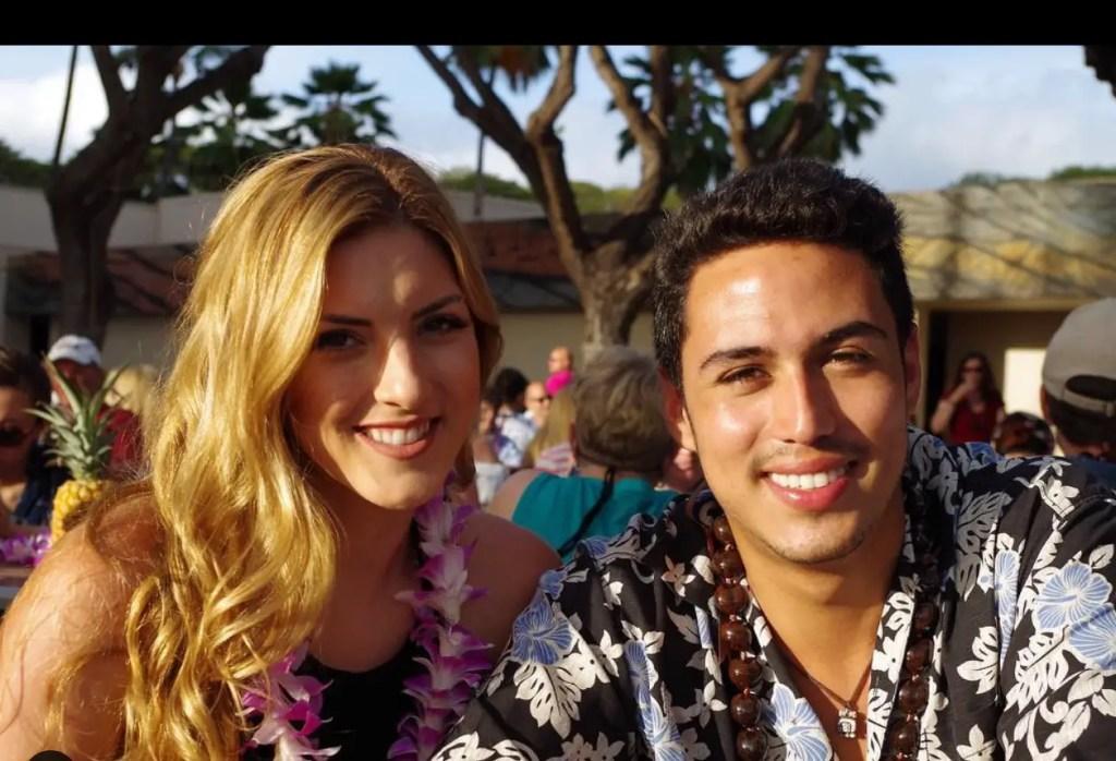 Julio Macias and girlfriend Shannon Schotter