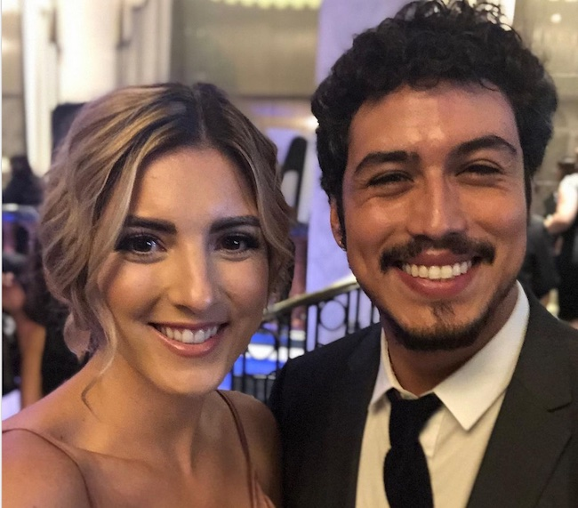 Julio Macias with girlfriend Shannon Schotter