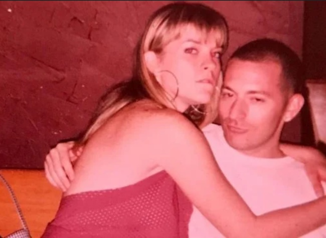 Leah McSweeney and Rob Cristafaro when they were young.