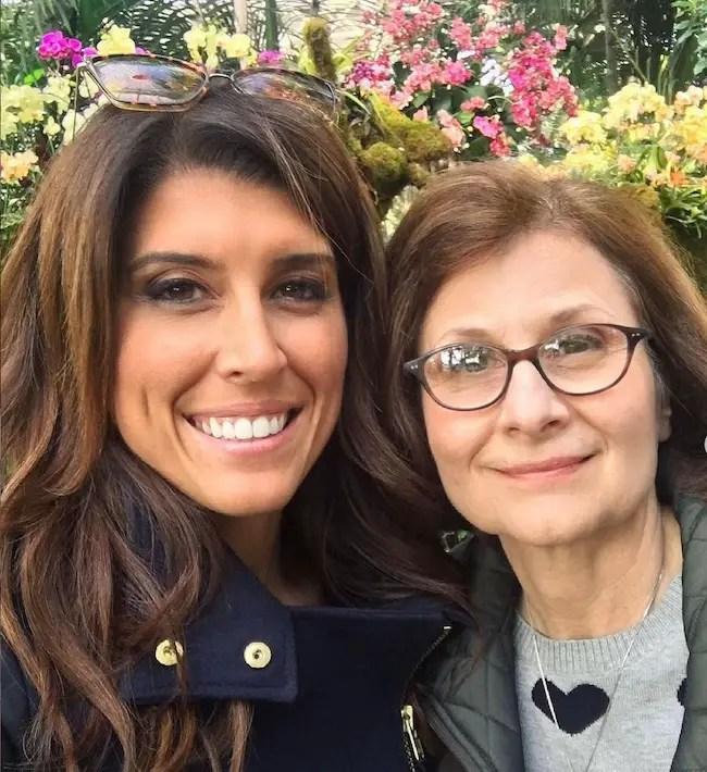 Lauren Scala with her mother