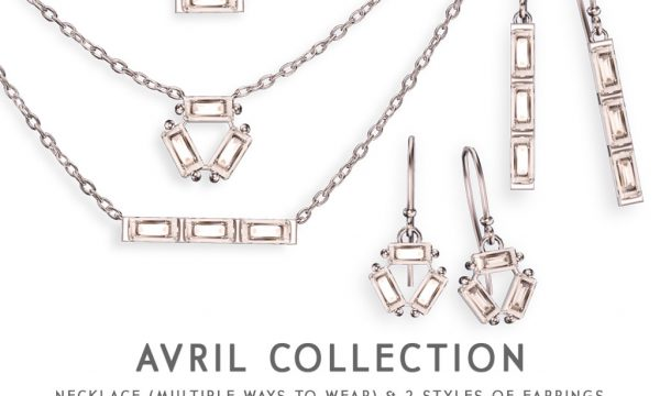 Avril Collection.  Necklace is L$395. Earrings is L$245. Fatpack is L$495.