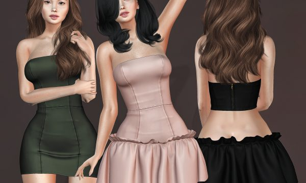 Selene Dress. L$349 each / Fatpack is L$2,700.