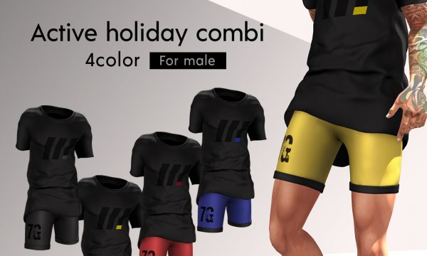 Active Horiday Combi. L$250 each / Fatpack is L$780.