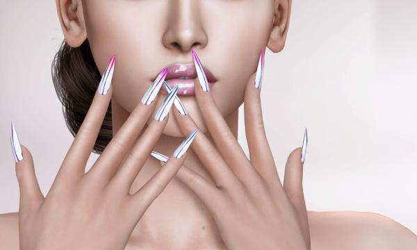 Mesh Stiletto Nails. Nails are L$279 each.