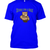 strong like a bear Famfabrix design bright blue