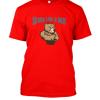 strong like a bear Famfabrix design red