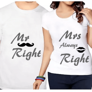 Mr right & Mrs always right