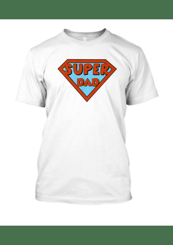 Superdad white T shirt