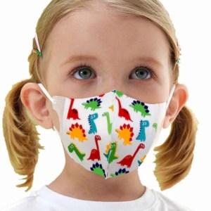 Children's Ready Print Face Masks – 2 pack