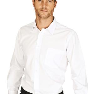 Mens Classic Poplin Shirt Long Sleeved