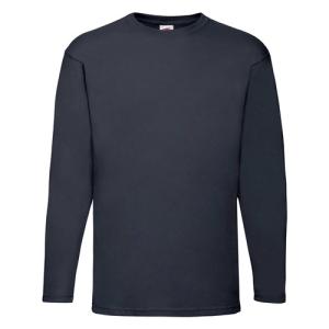 Long sleeve cotton Valueweight