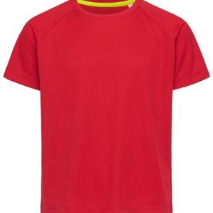 Stedman Youths Mesh T-shirt
