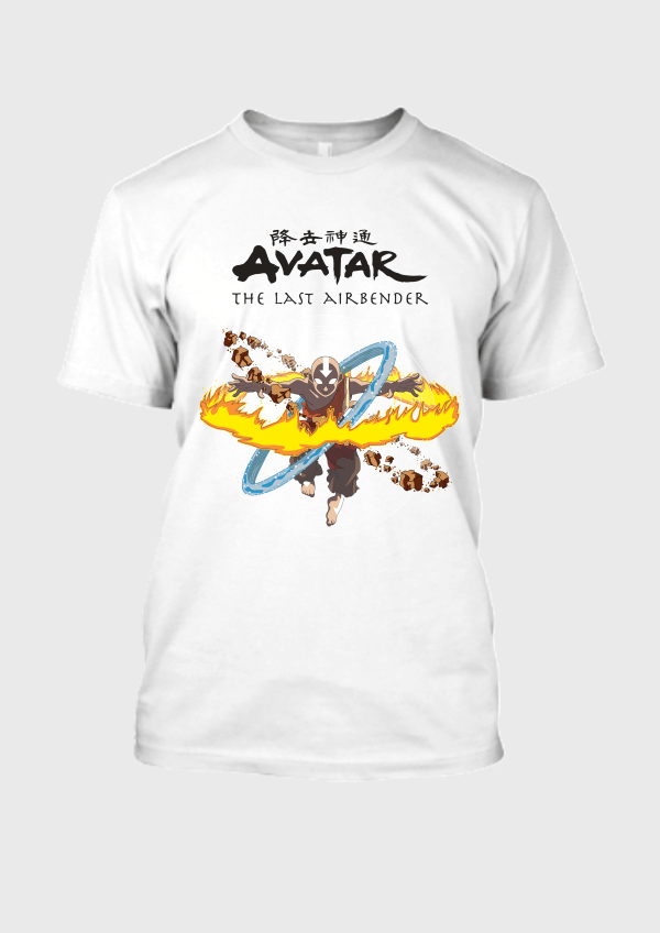Aang Fury White Tee 1