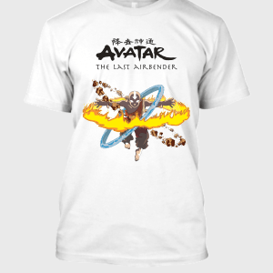 Avatar The Last Airbender Aang Fury T-Shirt