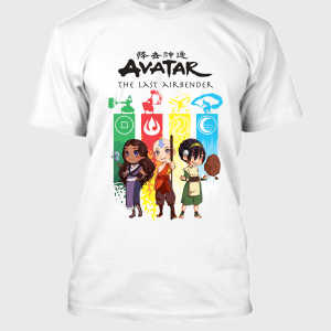 Avatar The Last Airbender Elements T-Shirt