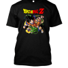 Dragon Ball Z Team and dragon Black Tee