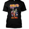 Team Naruto boxed Black Tee