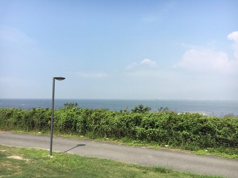 パームガーデン舞洲 目の前に広がる海