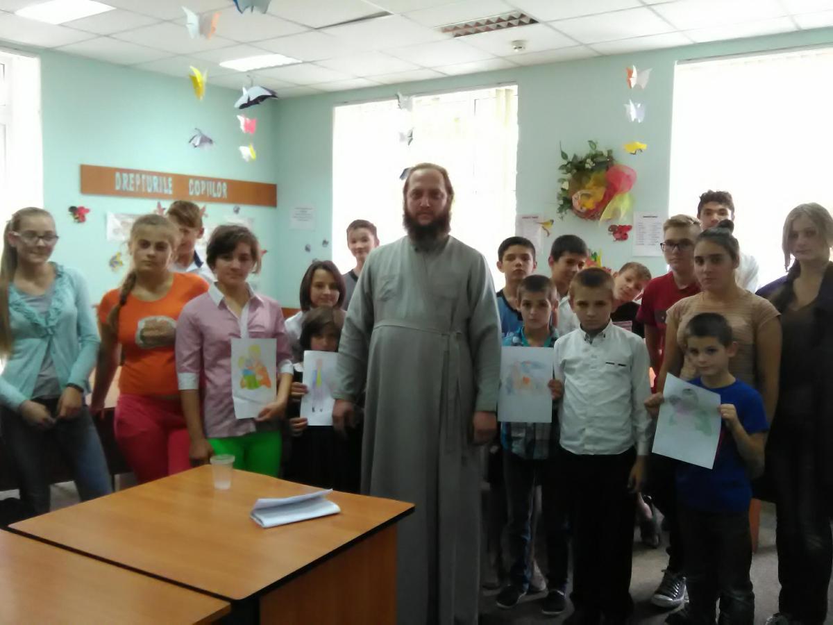 Lecție practică pentru elevii satului Novaci, Călărași