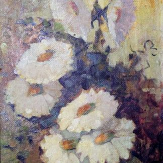 MVaidergorn, Margaridas, pintura a óleo