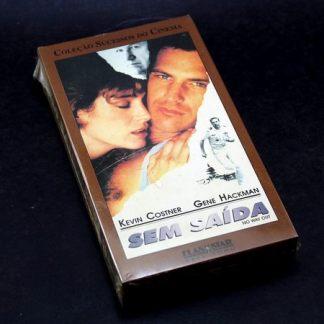 Sem Saída, VHS original, com Kevin Costner, Gene Hackman, Sean Young
