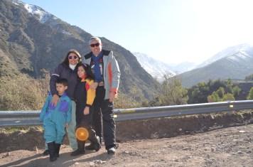 Pausa para a foto nos caminhos do Chile