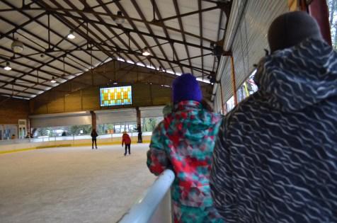 Pista de patinação no gelo de El Mercado