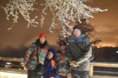 Chegada ao Refúgio Berghof