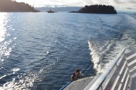 Navegação até o Puerto Blest
