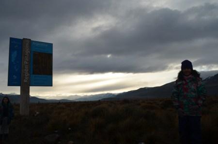 Caminho para a Villa La Angustura