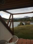 Nossa vista na varanda do Dut